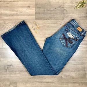 BKE • Culture Denim Flare Jeans Size 30 x 33 1/2